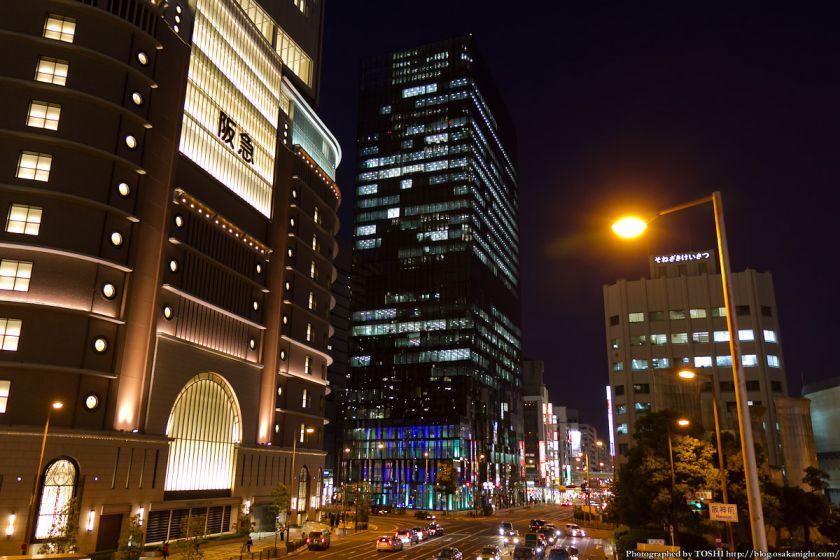 梅田 大阪富国生命ビル ライトアップ 2012年11月 01