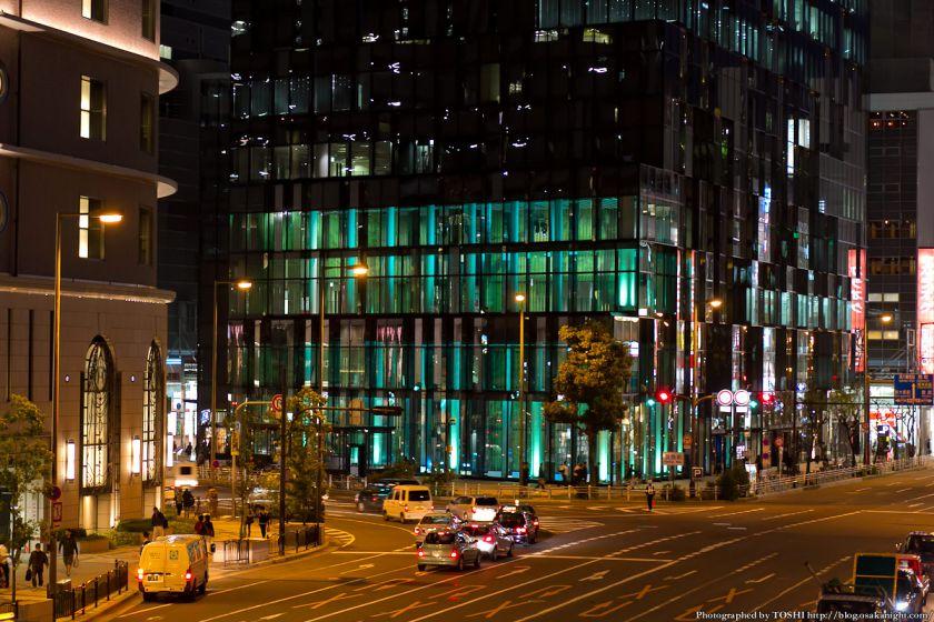 梅田 大阪富国生命ビル ライトアップ 2012年11月 02