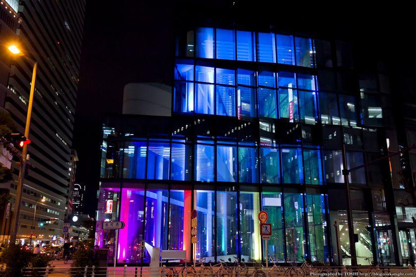 梅田 大阪富国生命ビル ライトアップ 2012年11月 04