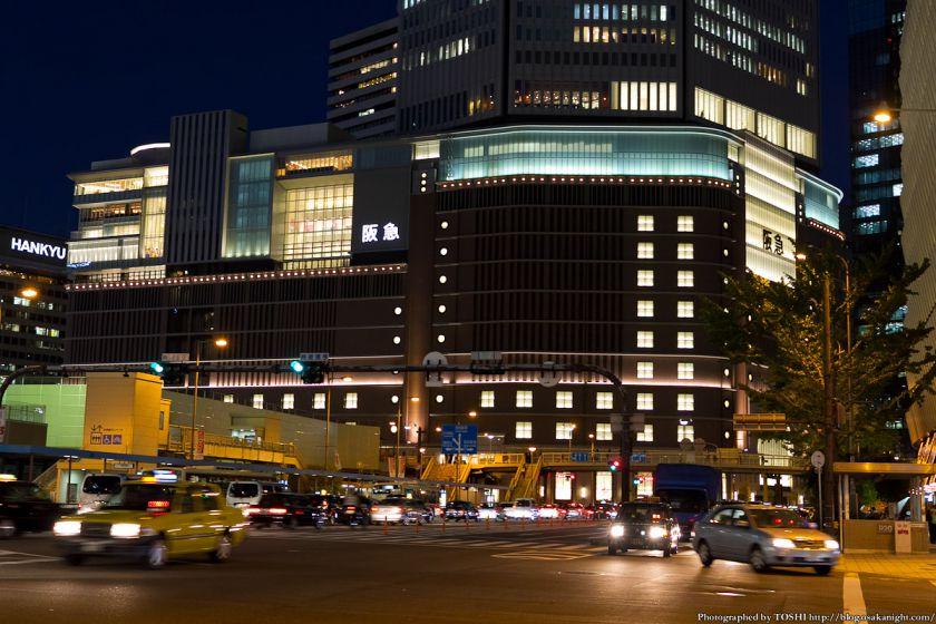 梅田阪急ビル 夜景 2012年11月 02