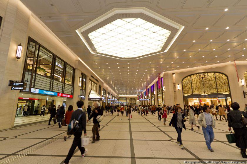 阪急梅田駅 南北コンコース 2012年11月 01