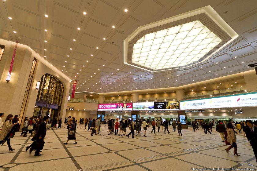 阪急梅田駅 南北コンコース 2012年11月 03