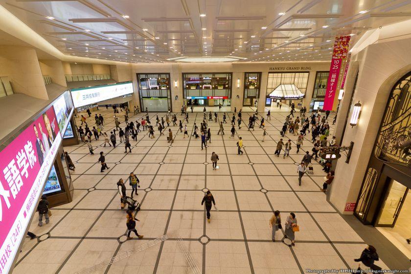 阪急梅田駅 南北コンコース 2012年11月 04