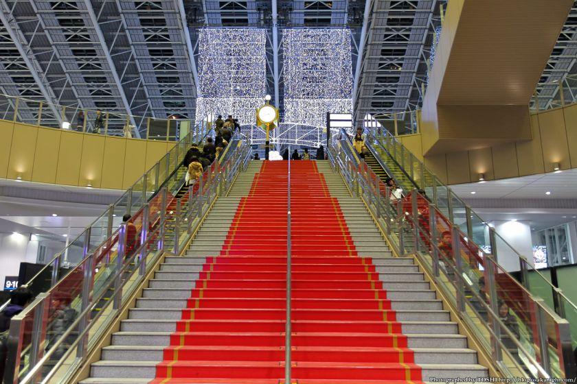 大阪駅 時空の広場 イルミネーション 2012 01