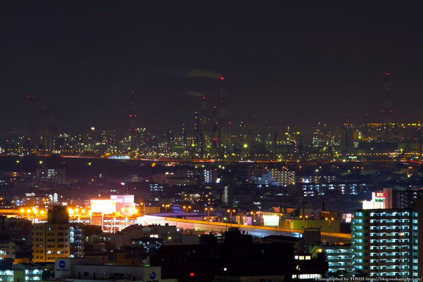 堺市役所から見た堺泉北臨海工業地帯 03