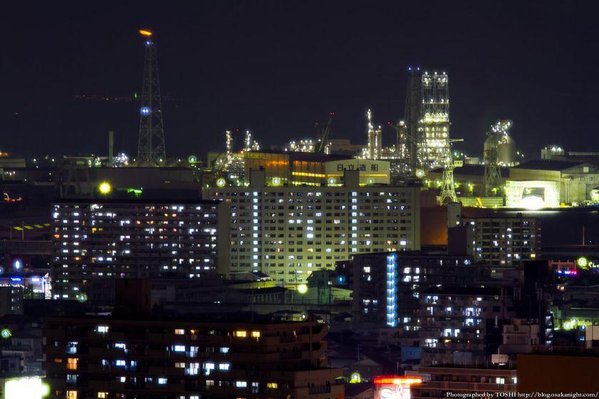 堺市役所から見た堺泉北臨海工業地帯 05