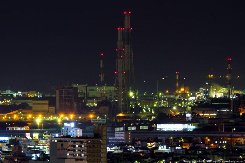 堺市役所から見た堺泉北臨海工業地帯 06