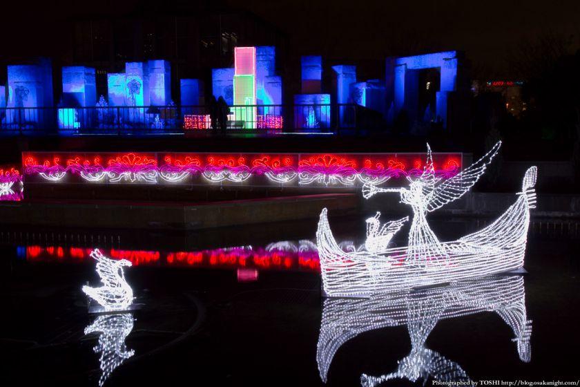 あべの・天王寺イルミナージュ 2012 水辺のイリュージョン