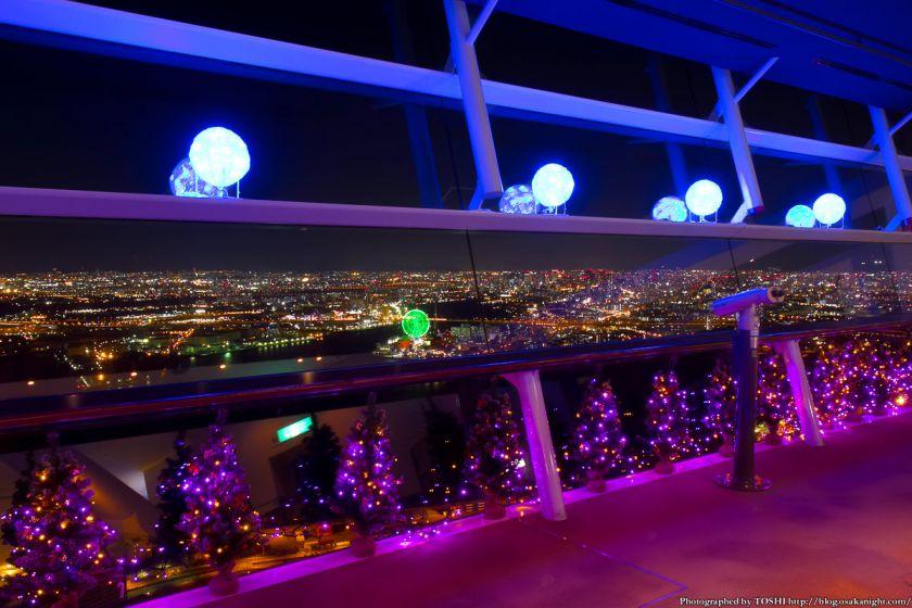 大阪府咲洲庁舎コスモタワー展望台 100ツリーズ・クリスマス2012 01