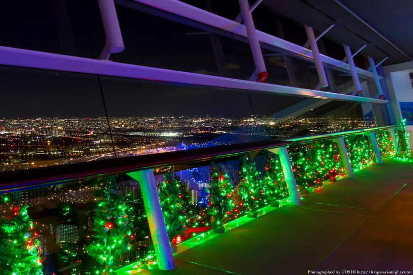 大阪府咲洲庁舎コスモタワー展望台 100ツリーズ・クリスマス2012 02