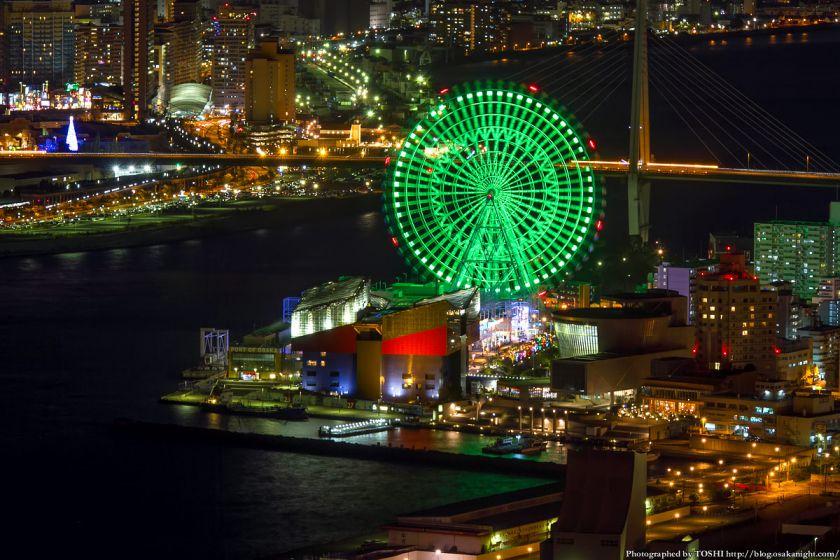 大阪港 天保山の夜景 2012年12月