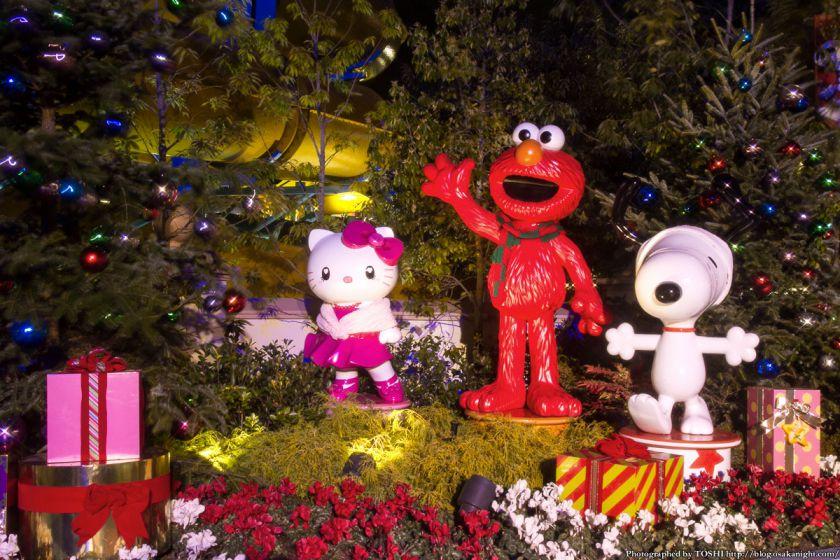 USJクリスマス2012 ユニバーサルワンダーランド