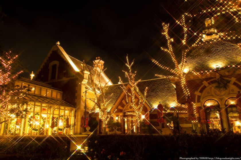 USJクリスマス2012 パークサイドグリル