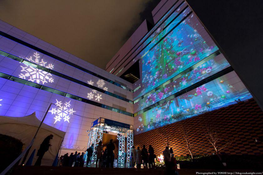 中之島ウエスト 冬ものがたり2012 ほたるまち光絵画