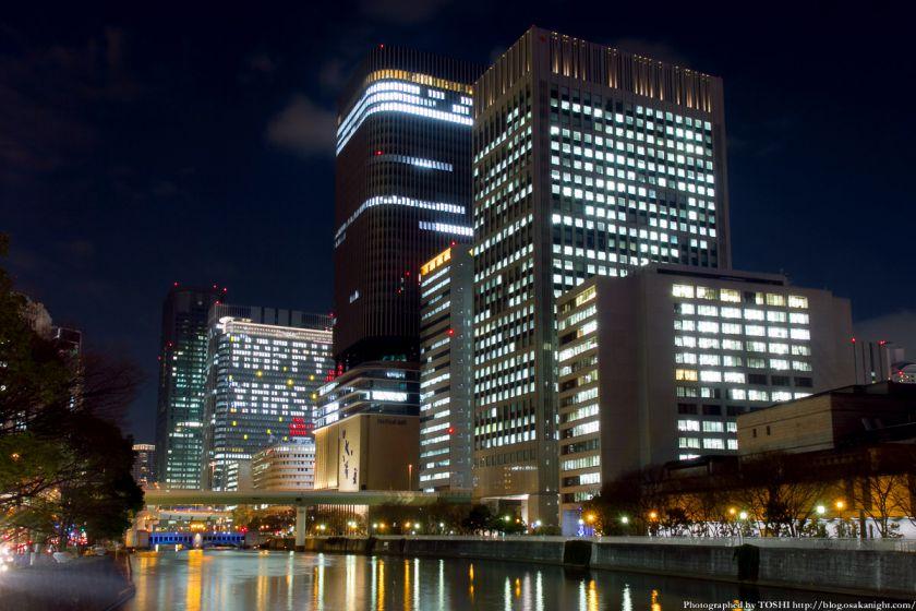 中之島三井ビル クリスマスウィンドウアート Osaka Buillumination 2012 01