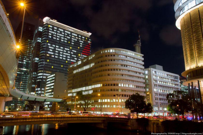 中之島三井ビル クリスマスウィンドウアート Osaka Buillumination 2012 04