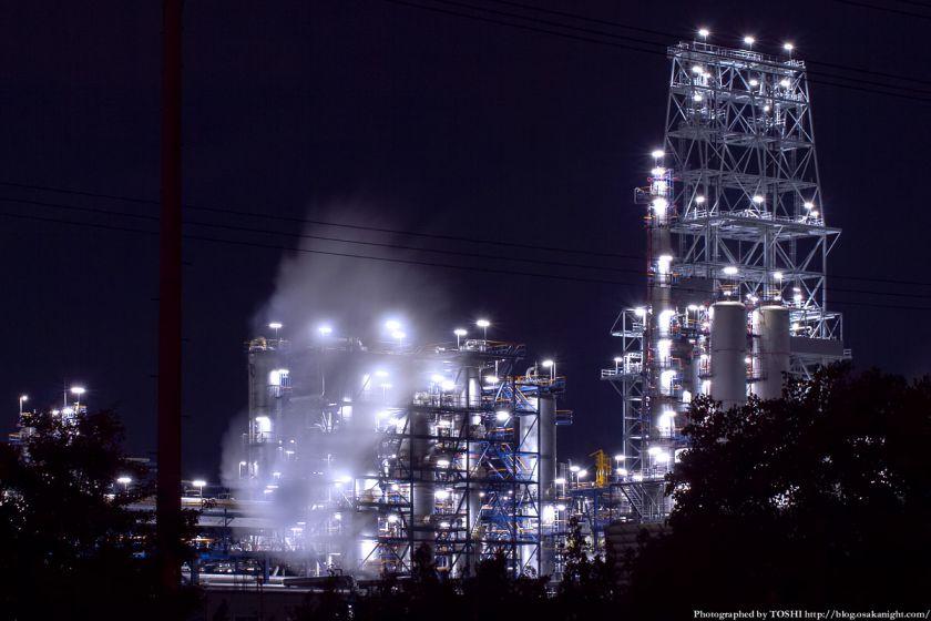堺泉北臨海工業地帯 築港新町 コスモ石油 02