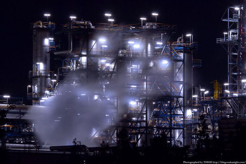 堺泉北臨海工業地帯 築港新町 コスモ石油 03