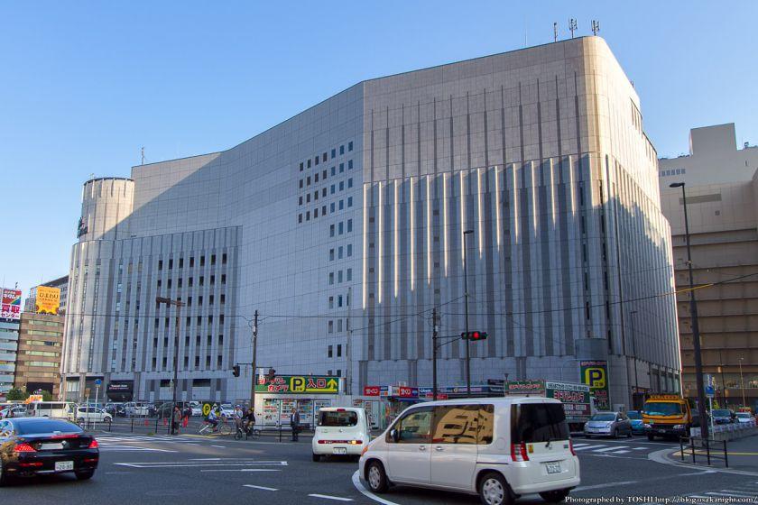 ヨドバシ梅田 北側 2012年10月