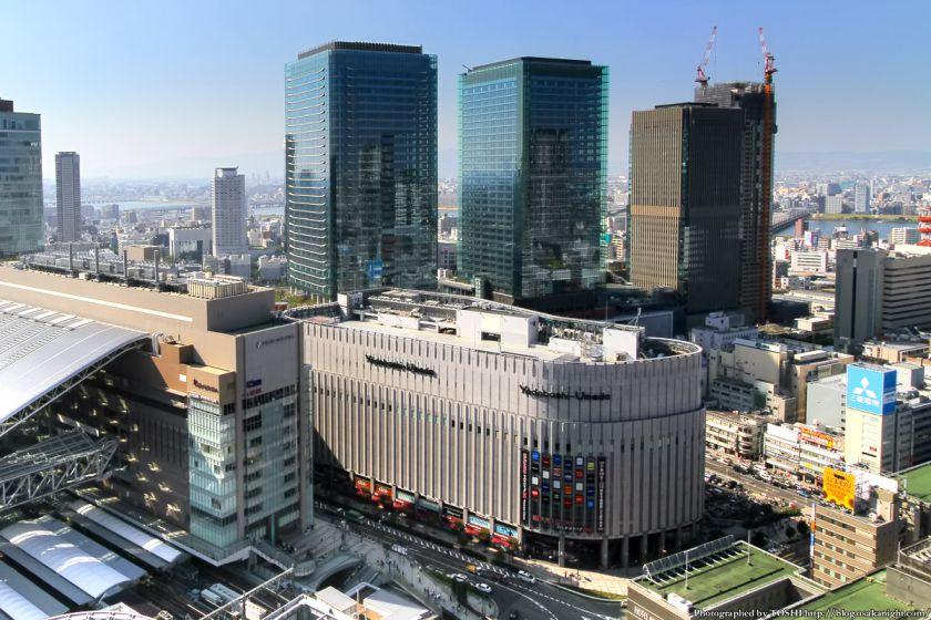 ヨドバシ梅田とグランフロント大阪 2012年10月