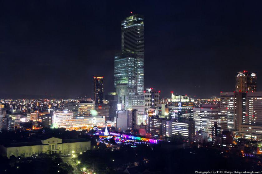 通天閣からの夜景 あべのハルカス 2013 02