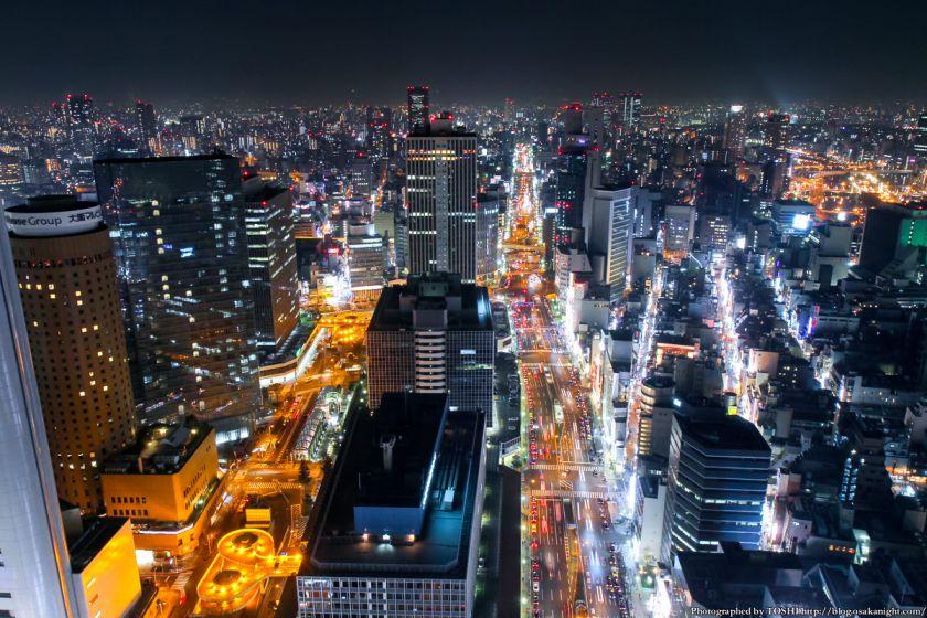 ブリーゼタワー 夜景 2013 01