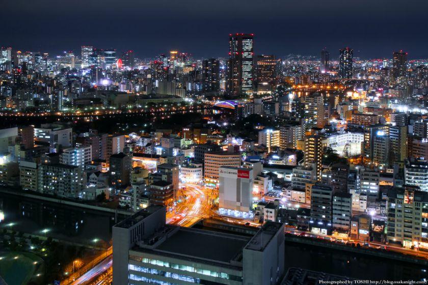 松下IMPビル 夜景 2013