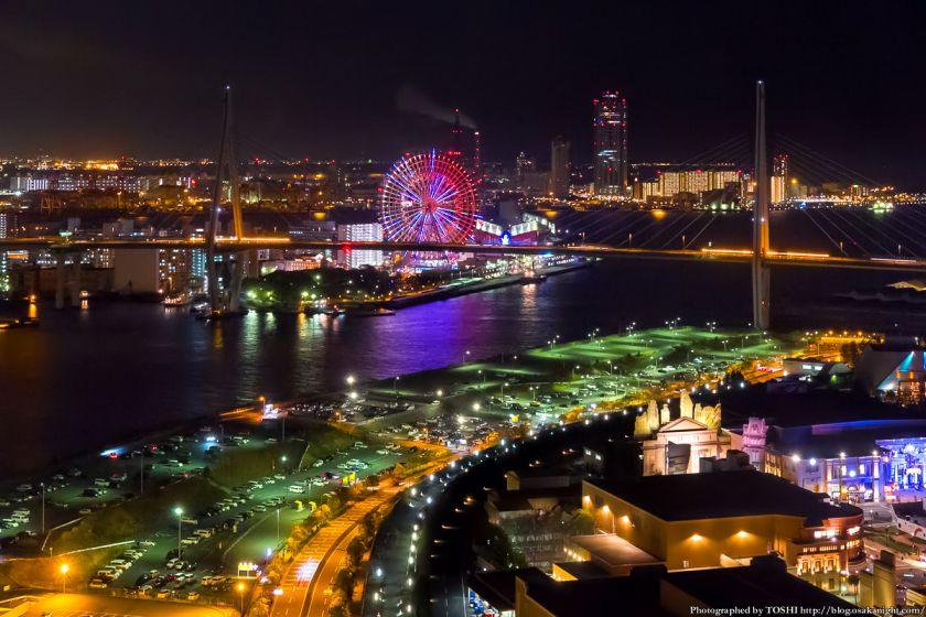 ホテル京阪ユニバーサルタワー 夜景 2013 02