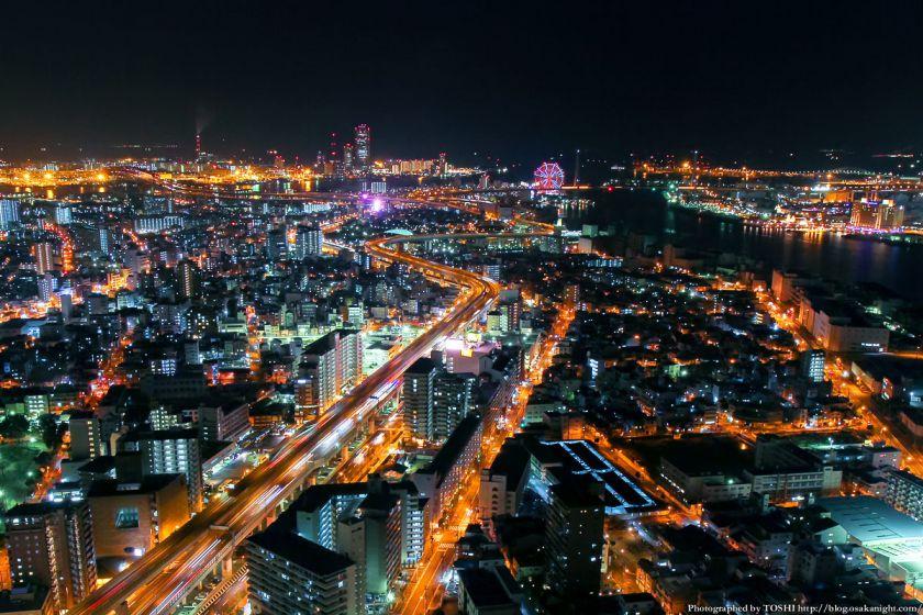ホテル大阪ベイタワー 夜景 2013