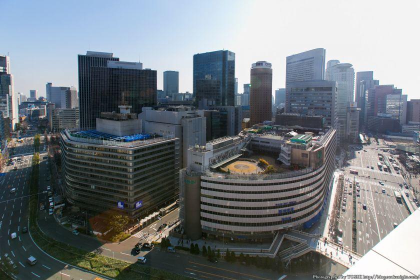 大阪神ビル&新阪急ビル 2013年3月