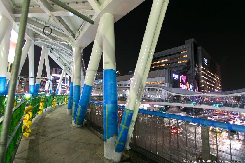 新阿倍野歩道橋 夜景 2013年3月 02