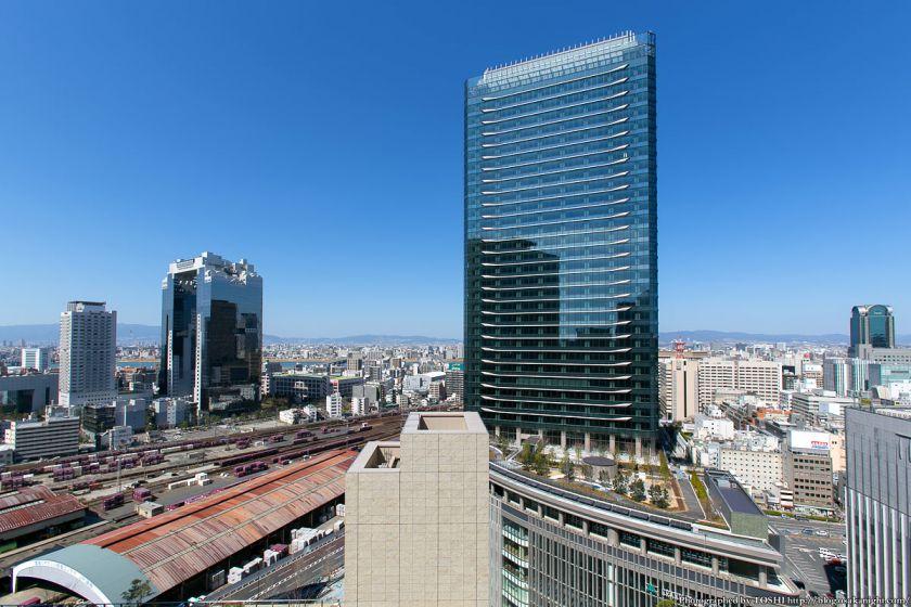 グランフロント大阪と梅田北ヤード2期地区 2013年3月