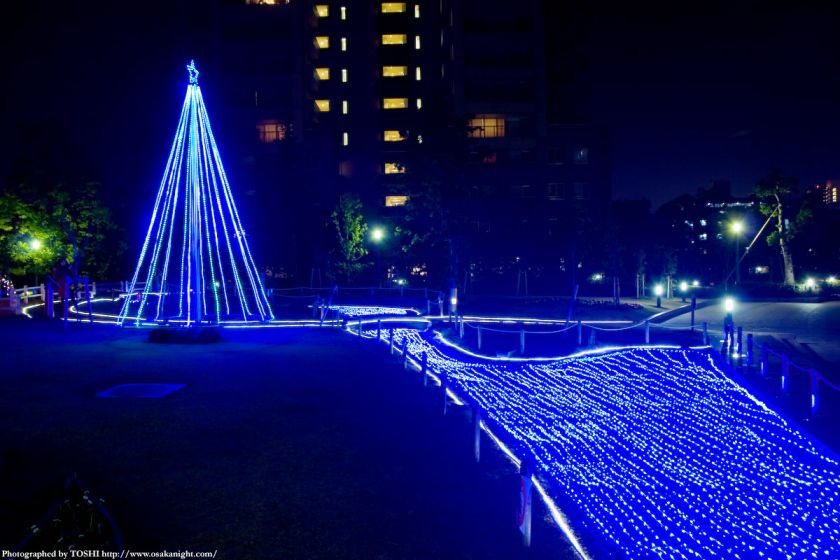 OAPのクリスマス・イルミネーション05