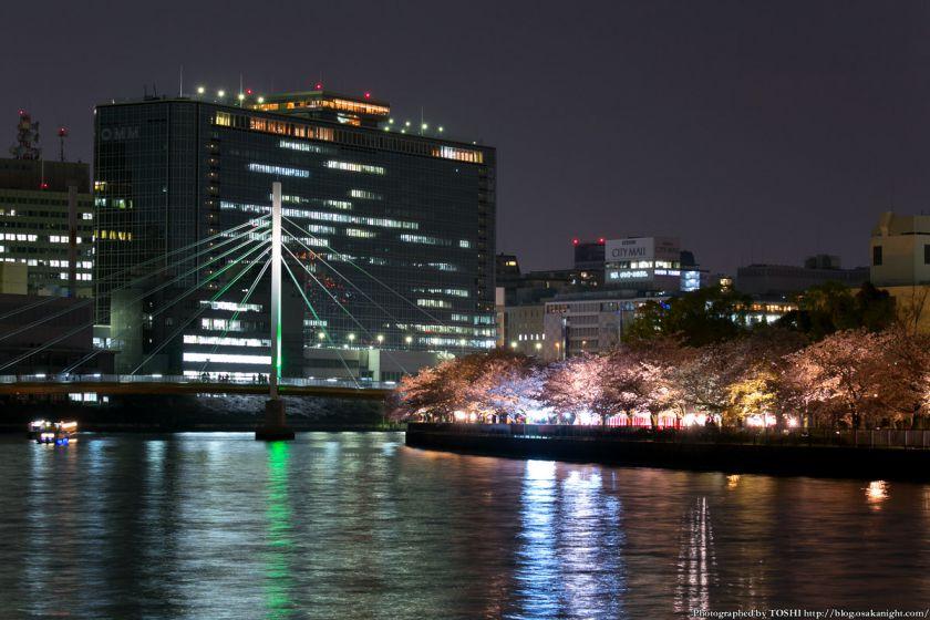 毛馬桜之宮公園 観桜ナイター 2013 05 (川崎橋2)