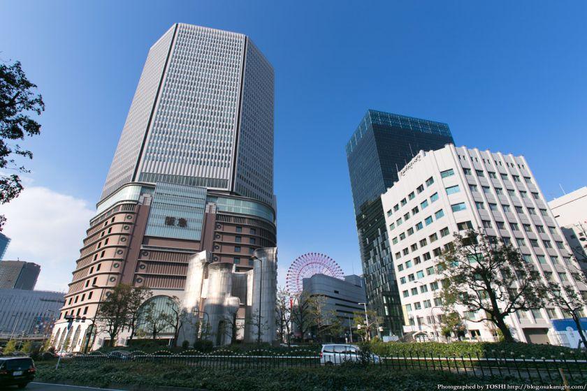 梅田阪急ビル周辺 2013年3月