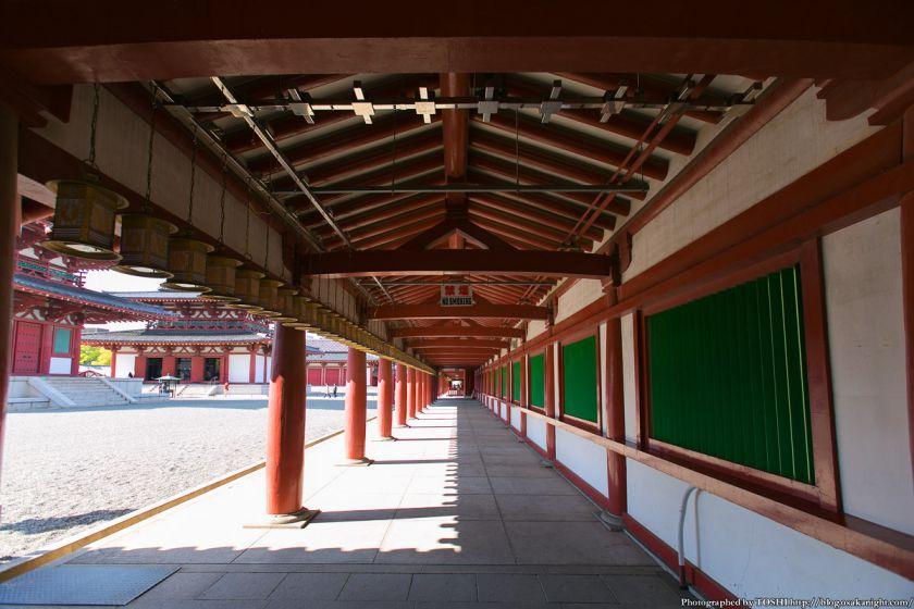 四天王寺 中心伽藍 回廊