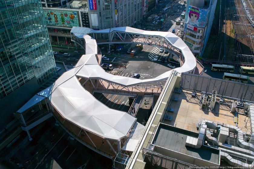 阿倍野歩道橋 2013年4月 01
