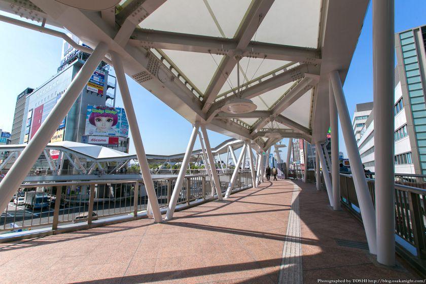 阿倍野歩道橋 2013年4月 03