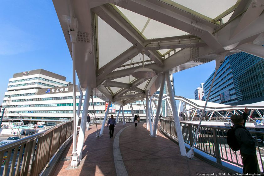 阿倍野歩道橋 2013年4月 04