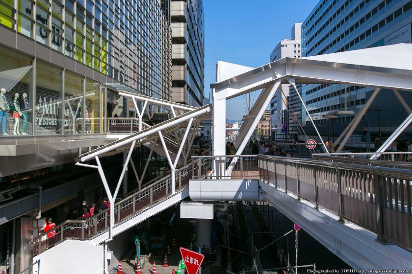 阿倍野歩道橋 2013年4月 06