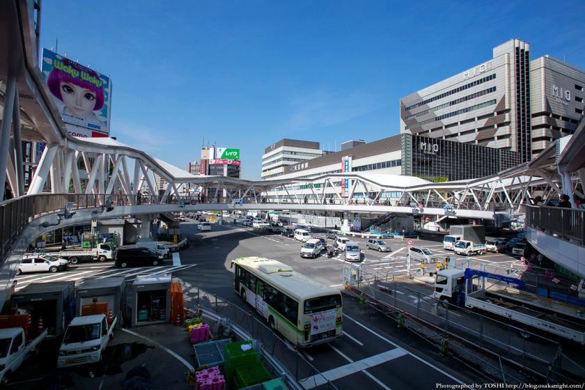 阿倍野歩道橋 2013年4月 07