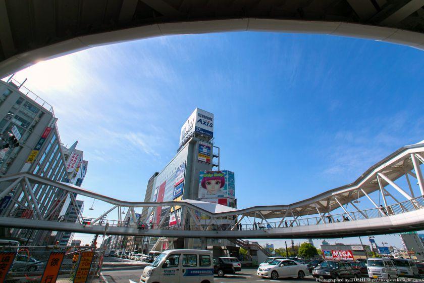 阿倍野歩道橋 2013年4月 09