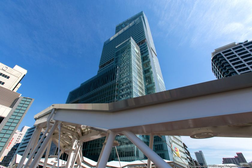 阿倍野歩道橋とあべのハルカス 2013年4月 02