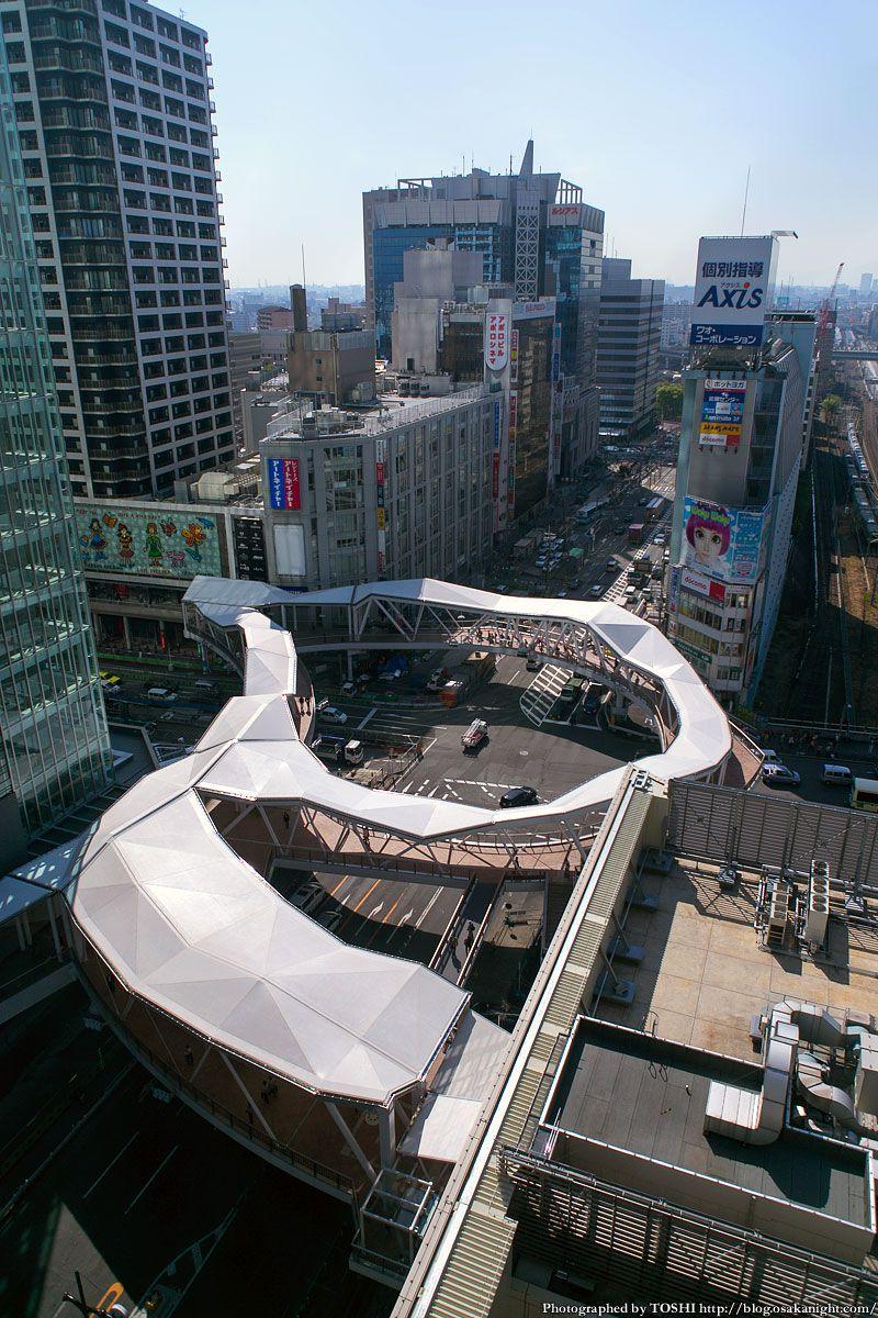 阿倍野歩道橋 2013年4月 10