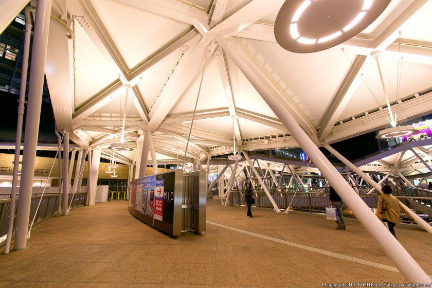 阿倍野歩道橋 ライトアップ夜景 2013年4月 03