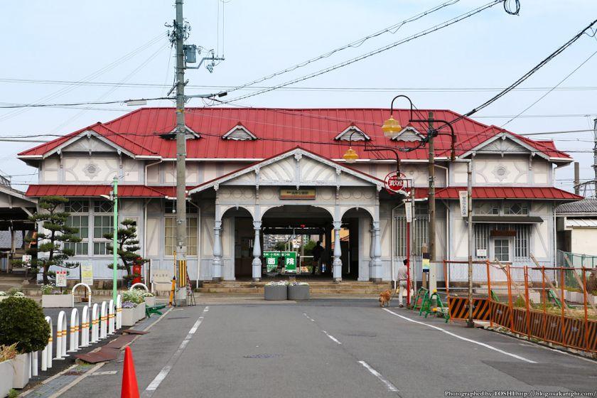 南海電鉄 浜寺公園駅 駅舎(登録有形文化財)