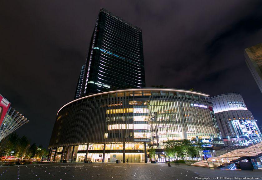 グランフロント大阪 うめきた広場 夜景 04 (南館タワーA)