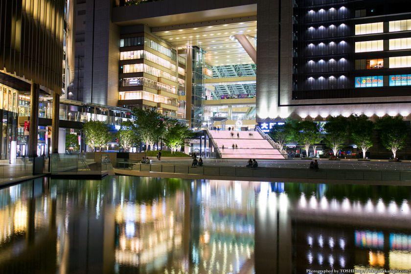 グランフロント大阪 うめきた広場 夜景 12 (水景)