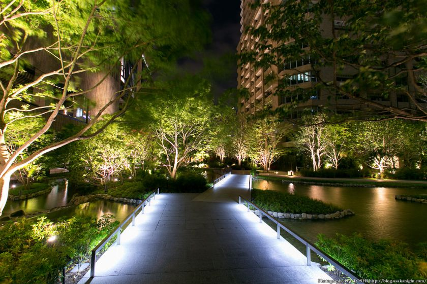 グランフロント大阪 ザ・ガーデン 夜景 01