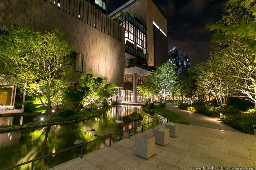 グランフロント大阪 ザ・ガーデン 夜景 02